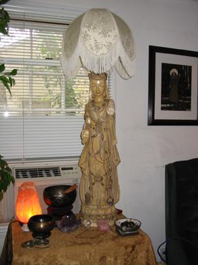 Kwan Yin Lamp