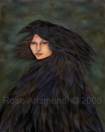 0591c897 Raven Woman | Rose Arizmendi