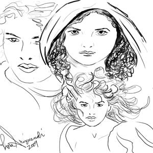 Sketch - Folktale study1